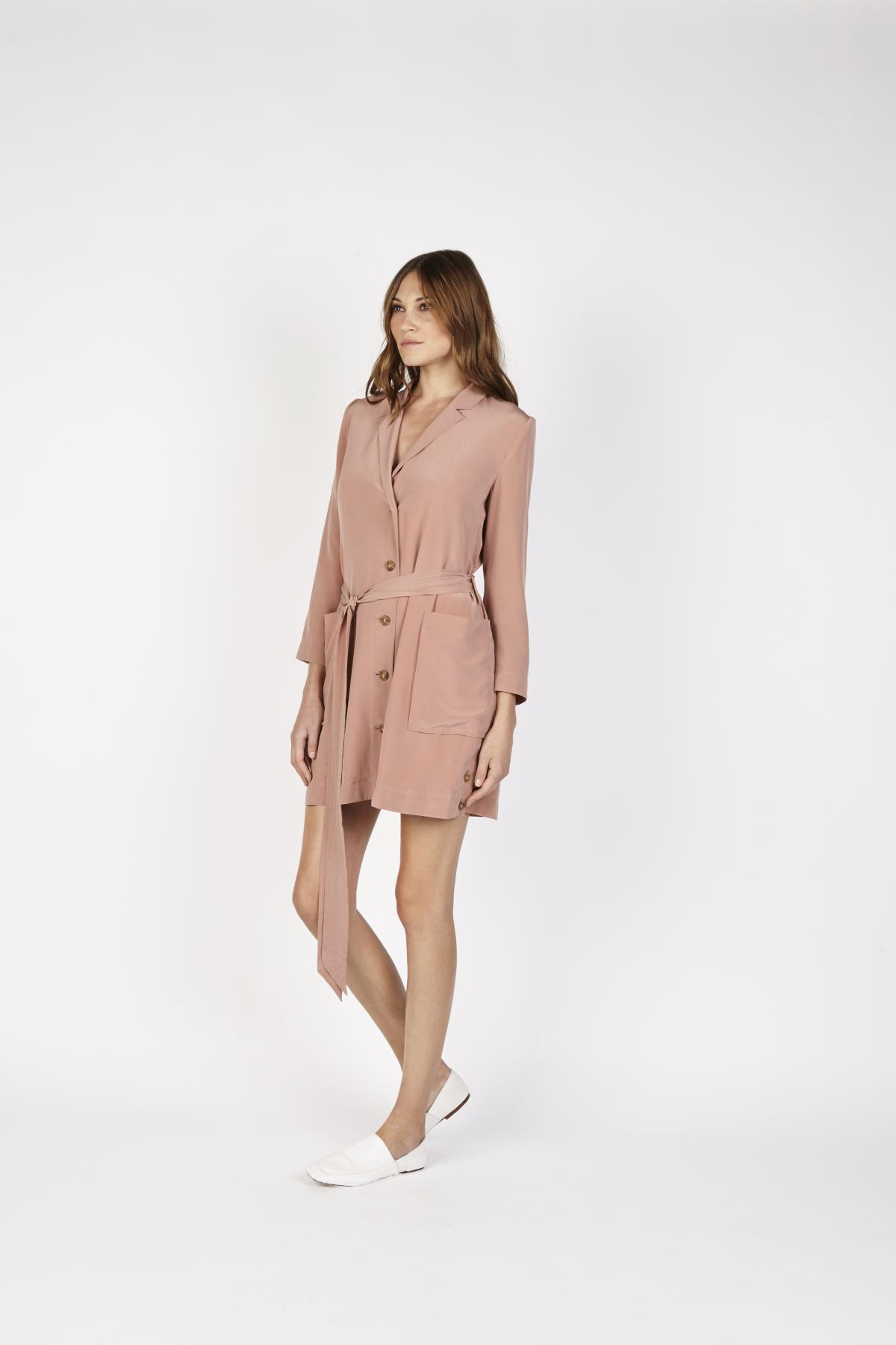 Emory Robe Dress - Customizable Made to Order   frilly